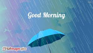 good morning gif rainy