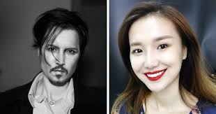 chinese make up artist with an aunce of 360k followers on insram turns herself into johnny depp