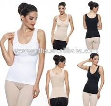As Seen On Tv Comfort Seamless Wireless Slimming Cami Shaper With Removable Padding Buy Slimming Cami As Seen On Tv Cami Shaper By Genie Slimming