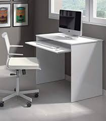 Computer desk small Small Spaces New Milan Small White Gloss Computer Desk By Furniture Factor Amazoncouk Kitchen Home Amazon Uk New Milan Small White Gloss Computer Desk By Furniture Factor