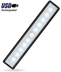 led closet lighting. jebsens t05b battery operated closet light 10 led under cabinet lighting with motion sensor led a