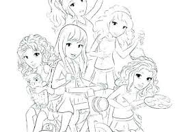 Lego Friends Coloring Friends Coloring Pages A Lego Friends Coloring