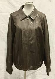 authentic salvatore ferragamo men s leather coat