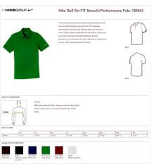 Nike Size Chart True To Size Apparel