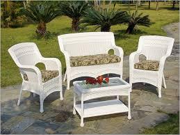 white wicker patio furniture sets picture