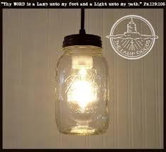 jar lighting. Mason Jar PENDANT Light NEW Quart Lighting H