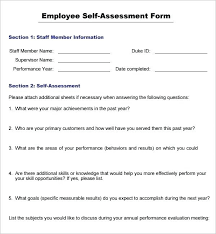 Free Employee Performance Review Templates Simple Template