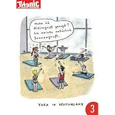 3er Pack Postkarte A6 Titanic Von Modern Times Yoga In