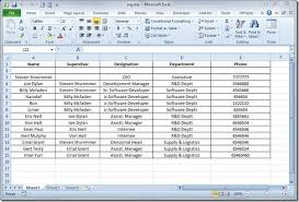 Sample Organizational Chart In Excel Create Organization Chart In Visio 2010 From Excel Spreadsheet
