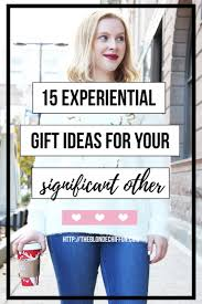 15 experiential gift ideas that are perfect for your s o