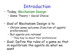 Mechanism Design Theory Ppt Mechanism Design Powerpoint Presentation Free