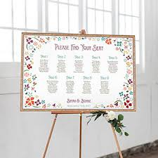 Seating Chart Posters