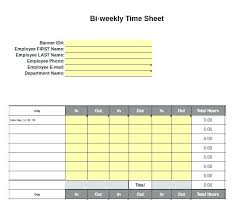 Biweekly Time Sheet Calculator Stunning Semi Monthly Time Card Template Excel In Calculator For Resume Cover