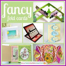 fold card 14 fancy fold cards allfreepapercrafts com