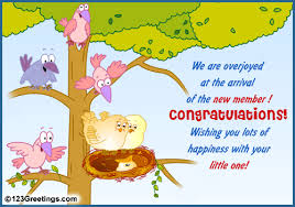 New Baby Congratulations Cards Welcome The New Arrival Free New Baby Ecards Greeting Cards 123
