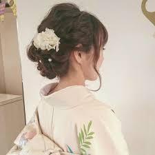 お呼ばれ結婚式に和装に合わせたいヘアスタイルまとめ Trillトリル