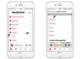 musik app in ios 10 tipps zum