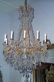 old crystal chandeliers for parisian ormolu bronze and baccarat chandelier keils antiques new orleans since value of antique brass update murano