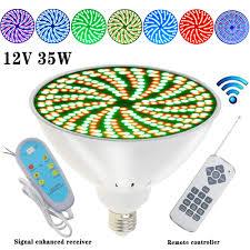 How To Change Light Bulb In Swimming Pool Amazon Com Yanwen Upgrade 12v 35w Led Pool Lights Bulb