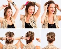 Do It Yourself účesy Pro Krátké Vlasy Krásné Večerní účesy Pro