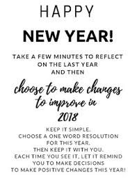 One Word New Year Resolutions Bulletin Board Or Class Activity
