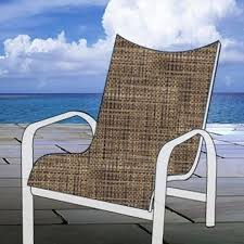 replacement chair sling curved back