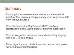 Data Centric Hpc For Numerical Weather Forecasting