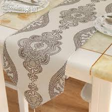 Designer Dining Table Mats New Fashion Table Runner Modern Round Coffee Luxury Table