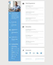 Pin By Daniela Ivanova On Cv Online Resume Template Online Resume