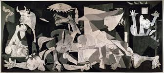 genesis picasso and biblical truth god lights  guernica pablo picasso ""