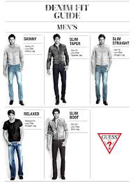 The Guess Jeans Denim Fit Guide Guess Jeans Denim Jeans
