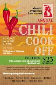 chili cook off poster.  Chili Chili Cook Off Poster Template Inside PosterMyWall