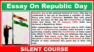essay on republic day in english  essay on republic day in english 26 2018
