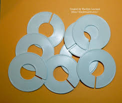 3 5 blank plastic closet dividers purchased on