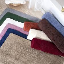 challenge 24 x 60 bath rug com lavish home cotton mat plush 100 percent