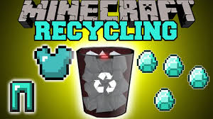 Recycling Minecraft Recycling Uncraft Recycle Items For Materials Mod