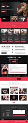 Fitness Program Design Personal Trainers Fitness Center Joomla Personal Trainers Template Web