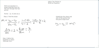 writing equations using point slope form worksheet answers inspirational slope intercept form worksheet with answers