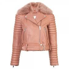 women moto er style leather jacket