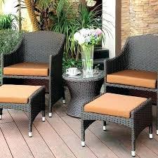 decorating ideas unique signature design by burnt orange outdoor chair set