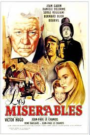 les miserables film the social encyclopedia les miserables 1958 film movie poster