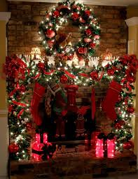 20 Mantel Christmas Decorating Ideas To Make Your Home More Festive This  Holiday (6)  Fireplace Christmas Decorations Ideas
