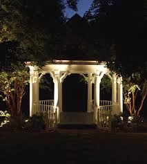 house outdoor lighting ideas. View In Gallery Well Lit Gazebo Garden House Outdoor Lighting Ideas