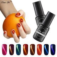 Beau Gel <b>8ml Wine Red</b> Cat Eye Gel Nail Polish Soak Off Magnetic ...