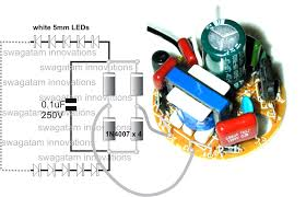 converting a dead cfl into an led tubelight circuit idea the circuit is not isolated from mains and therefore is extremely dangerous in uncovered powered position