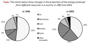 2003 Charts The Charts Below Show Changes In The Proportion Of The