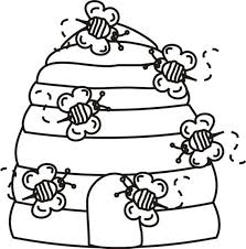 Small Picture Beehive Bees Coloring Page Greatest Coloring Book New preschool