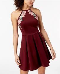 B Darlin Size Chart B Darlin Juniors Applique Fit Flare Dress Reviews