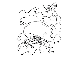 Coloring Pages Of Jonah And The Whale Betterfor