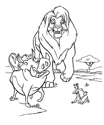 Small Picture 103 best THE LION KING images on Pinterest Disney coloring pages